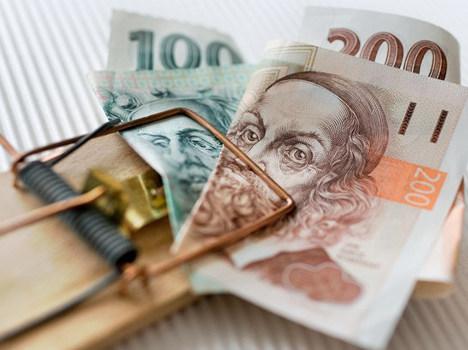 past na peníze