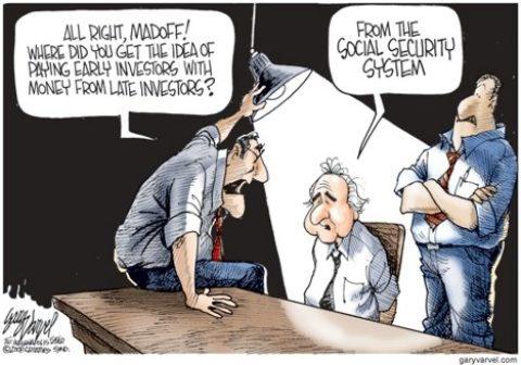 Inspiroval se pan Madoff českým penzijním systémem?