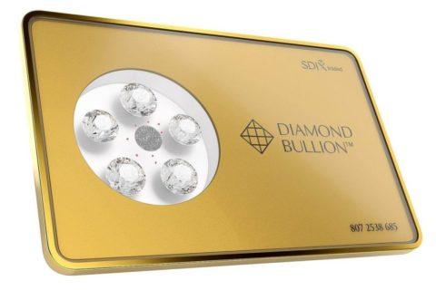 Diamantová destička – nová možnost investice do diamantů