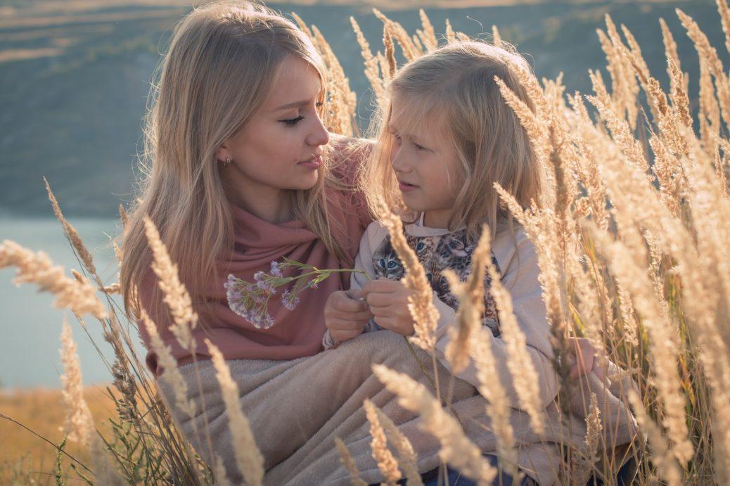 rodina - matka s dcerou - životní pojištění