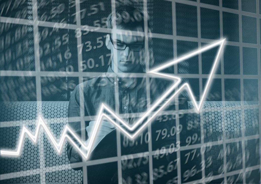 akcie - akciové trhy - graf