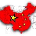Čína a čínská vlajka