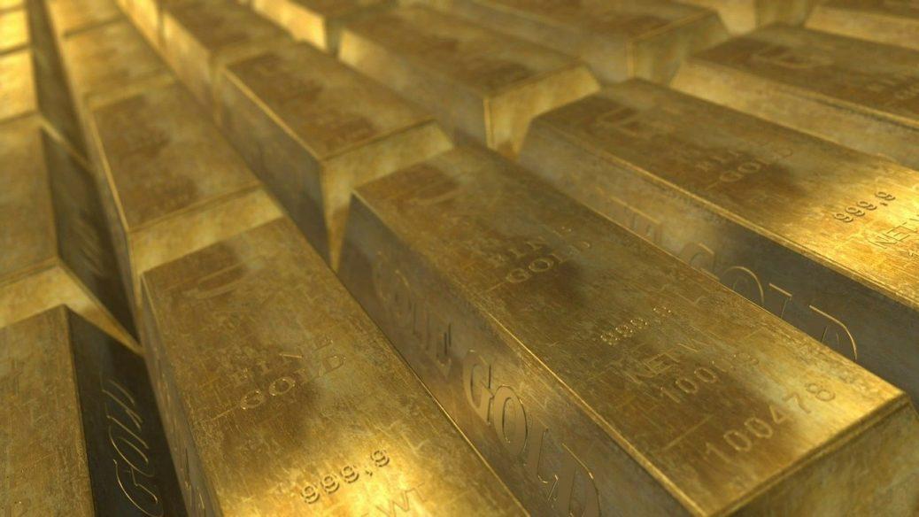Zlato - zlaté cihly - jistota