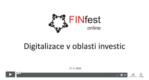 Digitalizace aonline prodej investic