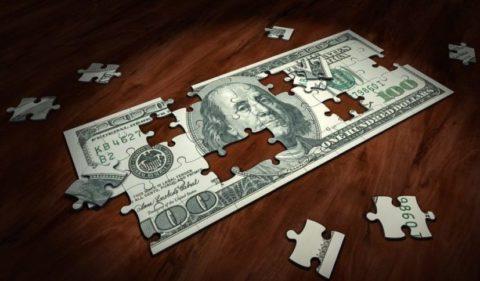 Poločas rozpadu peněz vlivem inflace
