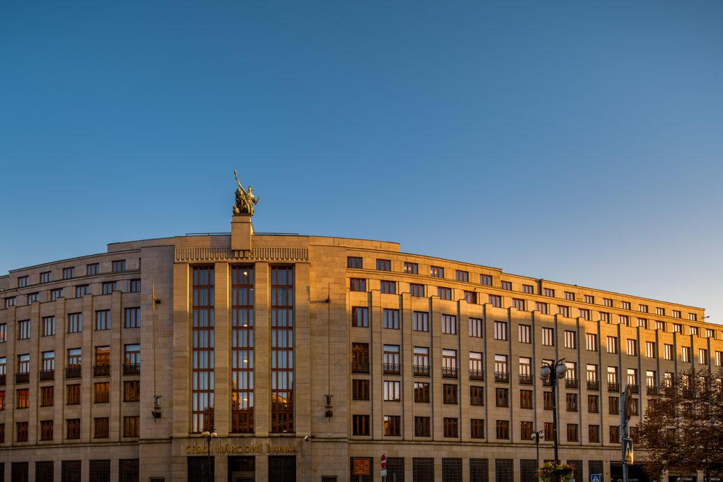 Budova ČNB - sankce