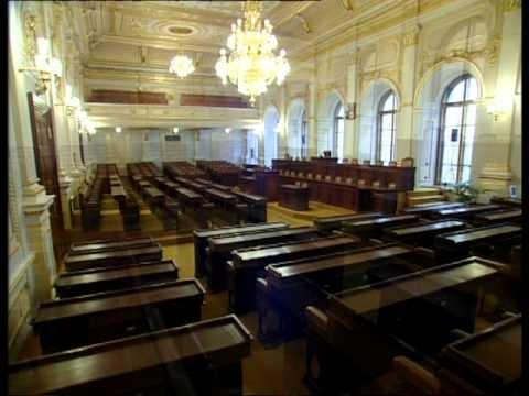 Poslanecká sněmovna - prázdná