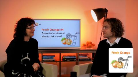 Premiéra dalšího dílu podcastu NN Fresh Orange – Zdravotní oceňování klienta. Jak na to?