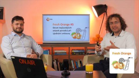 Další díl podcastu NN Fresh Orange je na světě, pojďte si ho poslechnout snámi