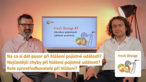 Likvidace pojistných událostí prakticky aneb poslechněte si nový díl podcastu NN Fresh Orange