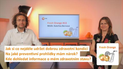 Jak se starat osvé vlastní zdraví sMUDr. Kateřinou Bernovou vpodcastu NN Fresh Orange